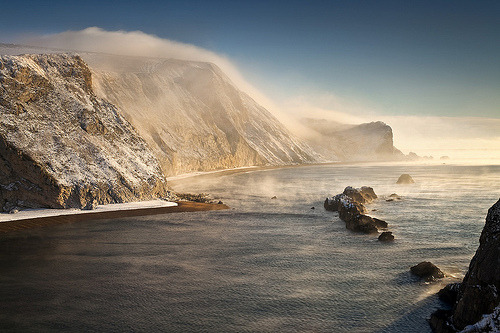 oblivi0n-:  Man O'War Bay Dorset (by peterspencer49)
