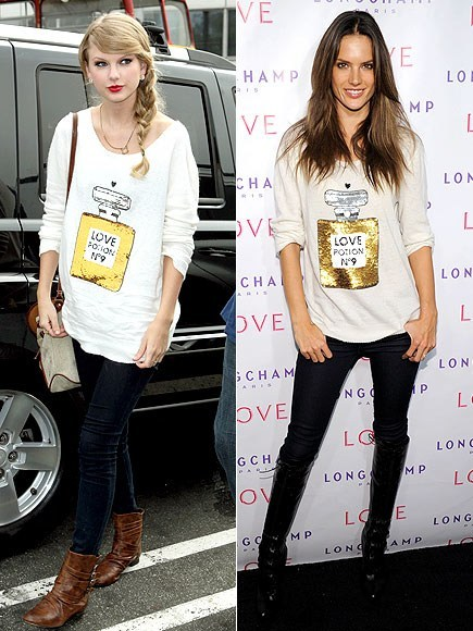 Who wore it better? Taylor Swift or the girl on the right? (im sorry but i dont know her name :/) Click here to vote (poll)