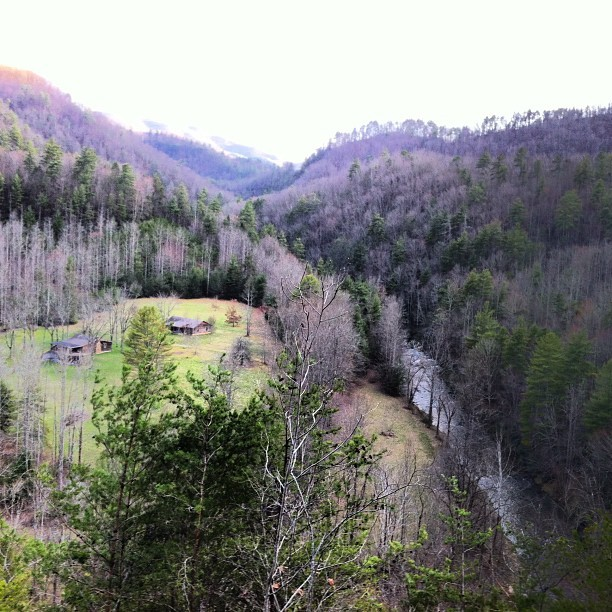 Hot Springs, NC @DeadLeafEcho day off (Taken with instagram)