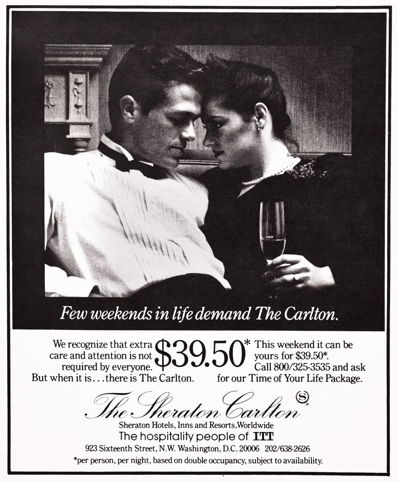 The Sheraton Carlton Advertisement - Gourmet: March 1985