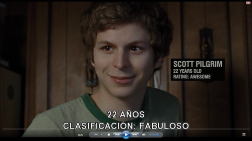 amelodiclove:  Scott Pilgrim. Apparently when he's Spanish, he's not just awesome, he's fabulous.