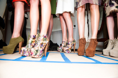 aldorise:  Florals, moss and clay palette at Preen - Photographed for ALDO RISE by The Coveteur