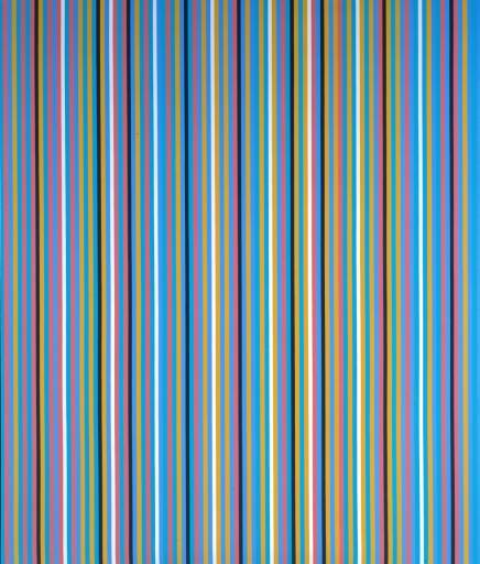 Bridget Riley, Aechaean, 1981