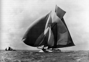 A schooner IS a sailboat.