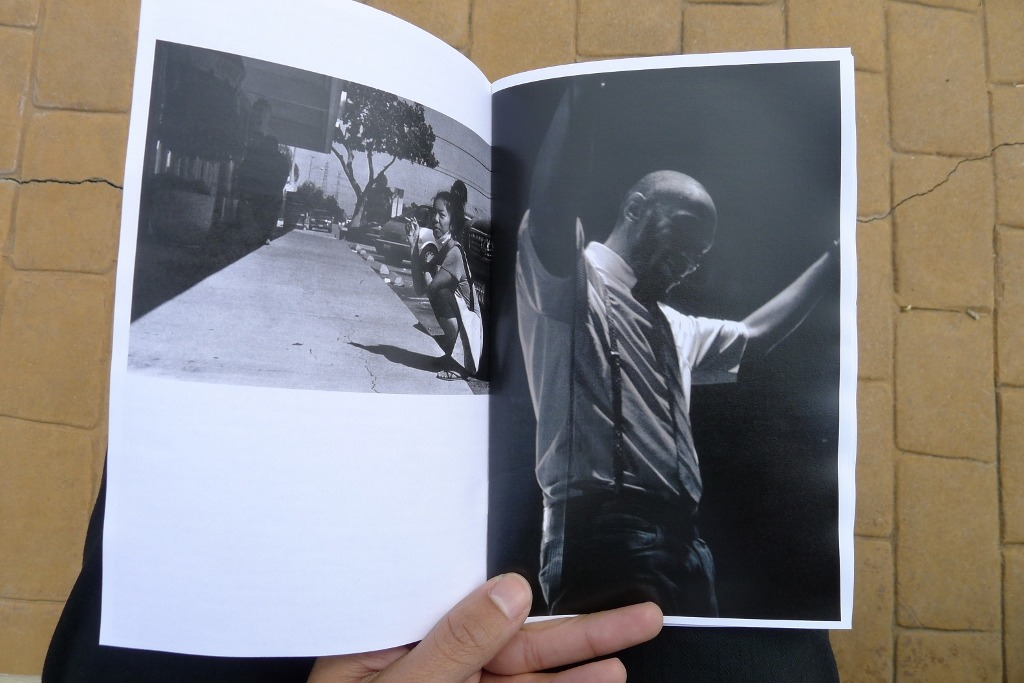 Honored to have one of my pics of Yasiin Bey (Mos Def) in Issue No.2 of my friend Eric Au's zine, Fine Print.