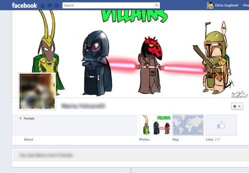 Heehee. one of our facebookers used some of my art as their header. awesome. are you a tumblr friend as well??? thats right. we have a facebook page: Playing Dead