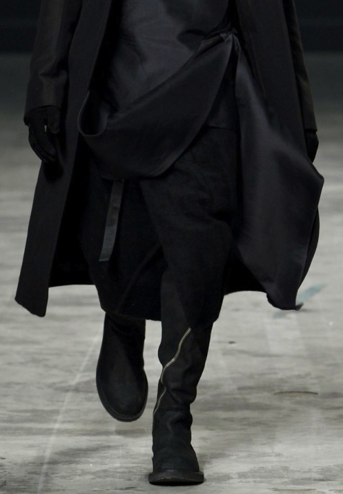 thesartorialistsson:  Rick Owens Autumn/Winter 2011