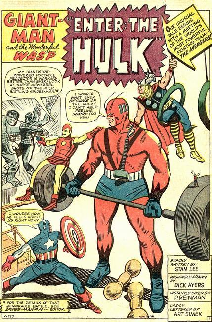 Reason # 4 that Hank Pym is the greatest Avenger: He made a fun playground for the Avengers that lets him work out at the same time. Efficient!