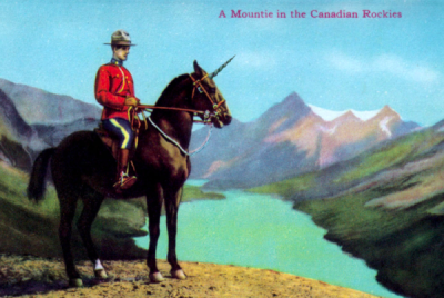RCMP unicorn