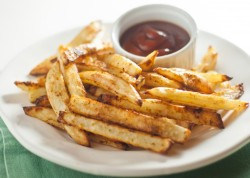 Perfect Oven Fries click image for recipe