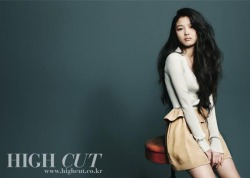 stylekorea:  High Cut Korea Model: Kim Yoo Jung
