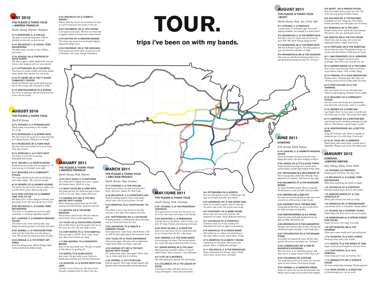here's a map i made of every tour i've gone on so far. click through the pic to zoom in and stuff.