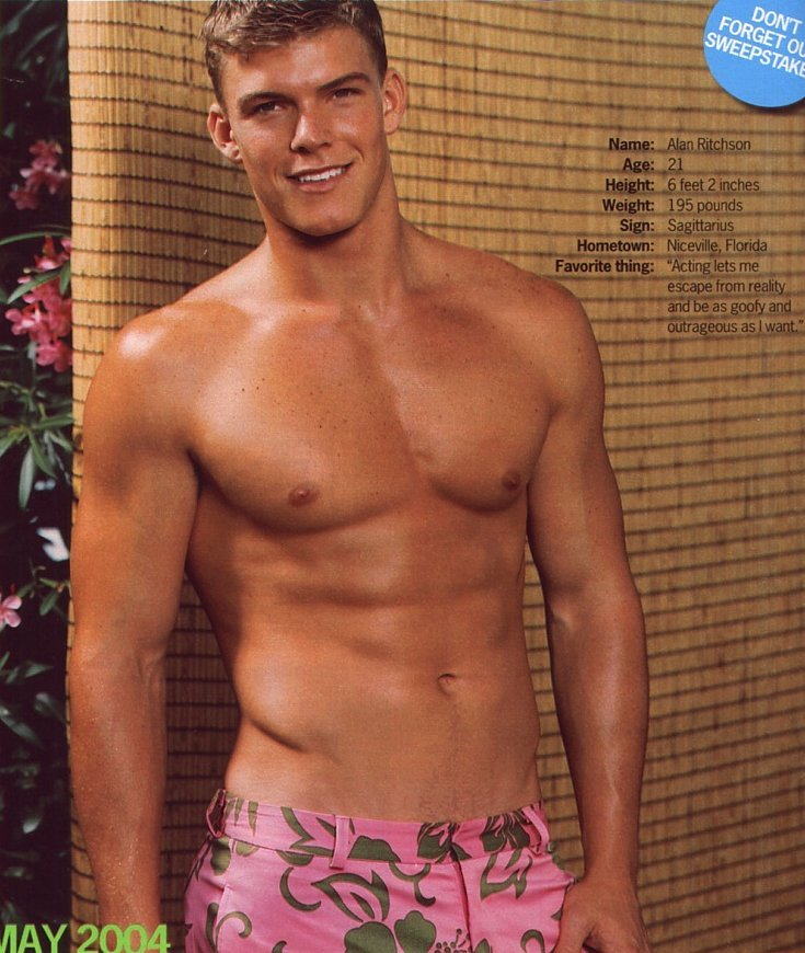 Alan Ritchson for Cosmopolitan, May 2004