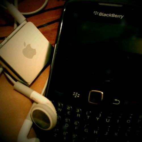 blackberry and the apple