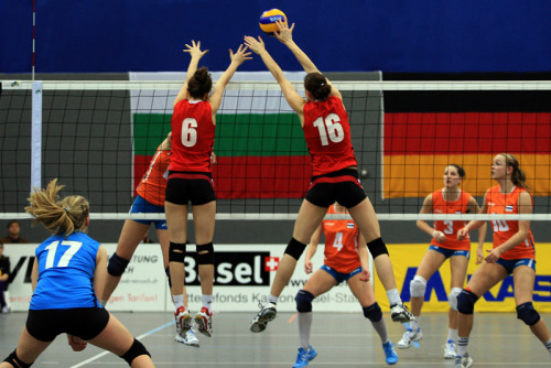 """Volleyball EM-Qualifikation Juniorinnen U19"" by Robi33 on Flickr"