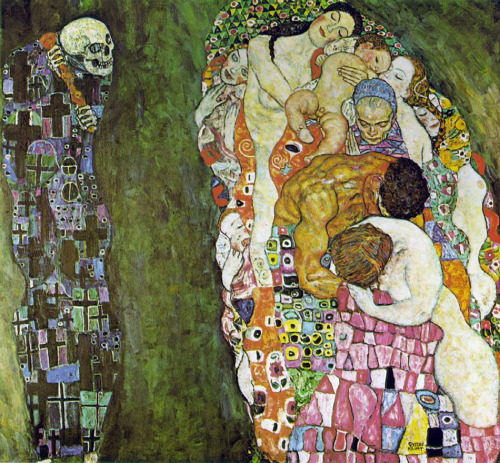 Death and Life by Gustav Klimt, 1908-1916