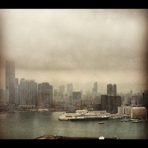 View of Kowloon (Instagramで撮影)