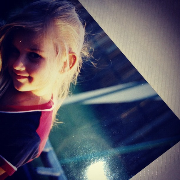 I was so blonde #cute #baby #old #instagram #photography #photo #90 #hair #eyelases  (Taken with instagram)