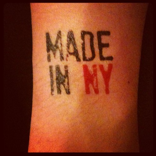 My arm #sxsw #madeinny (Taken with instagram)