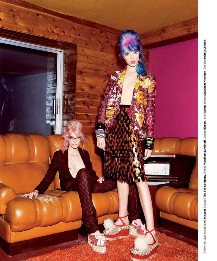 Valley of the Dolls Bullett Magazine Anna-Maria Nemetz y Ehren Dorsey por Greta Ilieva. Estilismo por John William. ….. Anna-Maria Nemetz and Ehren Dorsey by Greta Ilieva. Styling by John William.