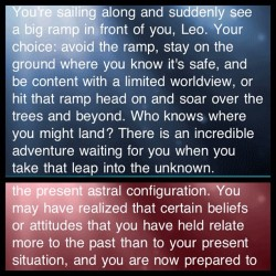 Yes and yes.  #horoscope #leo #lovescope #life (Taken with instagram)