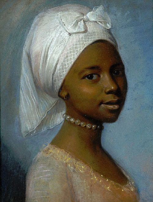 missfolly:  Portrait of a Young Woman, probably early 1800s, by an unknown artist (originally attributed to  Jean-Etienne Liotard (1702-1789))  Oh, I'm in love!  What a beauty!