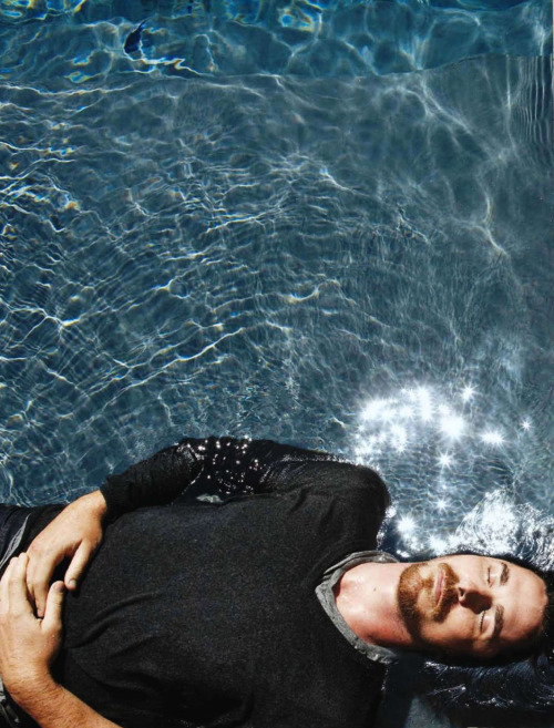 bohemea:  Christian Bale - Esquire by Nigel Parry, December 2010