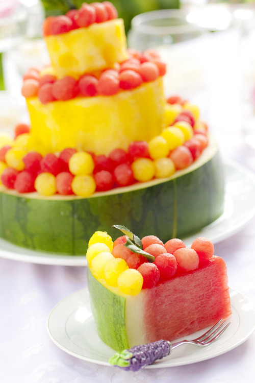 ffoodd:  watermelon cake ( by fatboysfinishlast )
