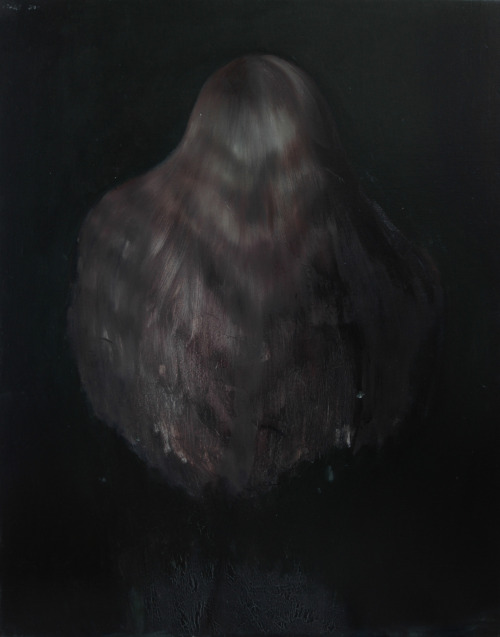 Hair, 2012. 100 x 80 cm. Oil on canvas