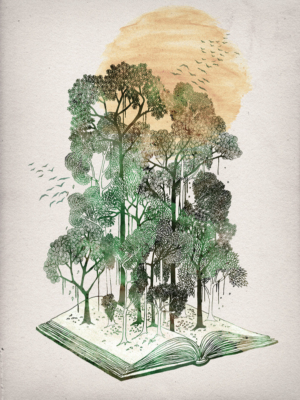 fer1972:  Jungle Book by David Fleck (Check out his tumblog!)