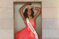 zimbabweanwomen:  Congrats to Malaika Mushandu For Placing top 10 in Miss World In England and  coming in 2nd place ( First Princess) in Miss Top Model of the World in Germany
