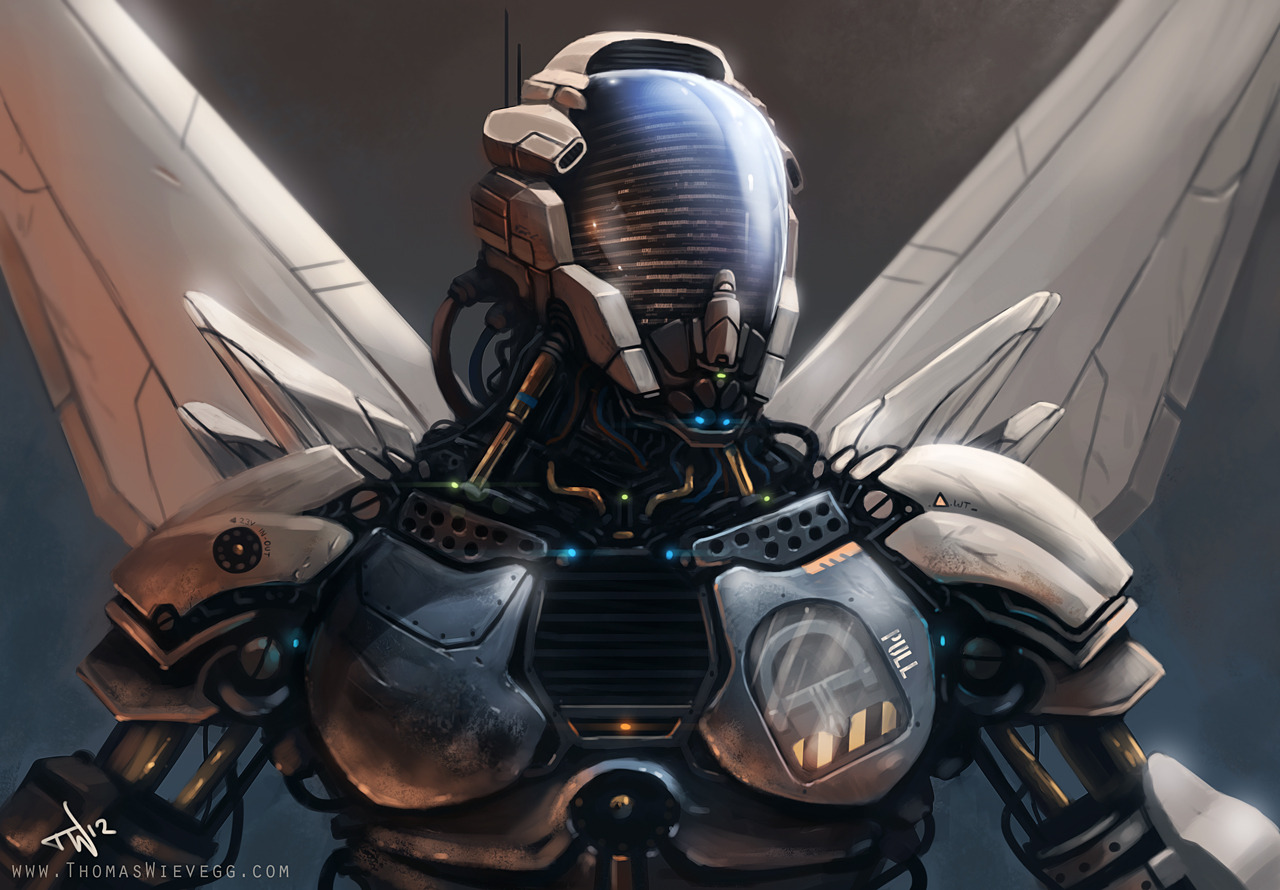 120225 Robot by ~thompson46