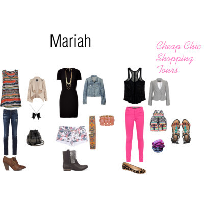Mariah by tajaw featuring summer tops