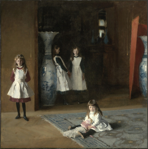 "posthorn:  ""The Daughters of Edward Darley Boit"" by John Singer Sargent, 1882."