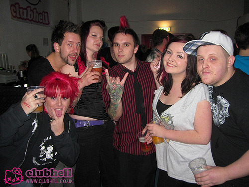 First night of our new rock night CLUBHELL! Click any of the pics to see the full gallery.