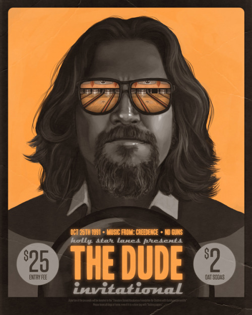 serialthrillerinspiration:  The Dude!