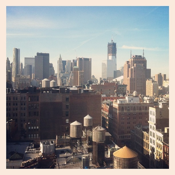 View from @20x200 office. New digs are effing awesome (Taken with Instagram at foursquare HQ)