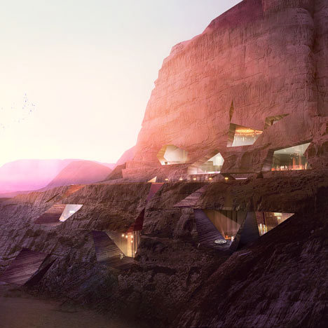 Wadi Resort by Oppenheim Architecture + Design Wadi Rum, Jordan