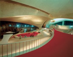airswag:  The TWA Eero Saarinen Terminal at New York JFK Airport 1956-1962 By: Korab