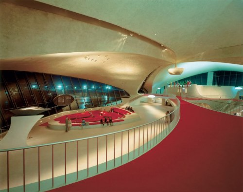 The TWA Eero Saarinen Terminal at New York JFK Airport 1956-1962 By: Korab