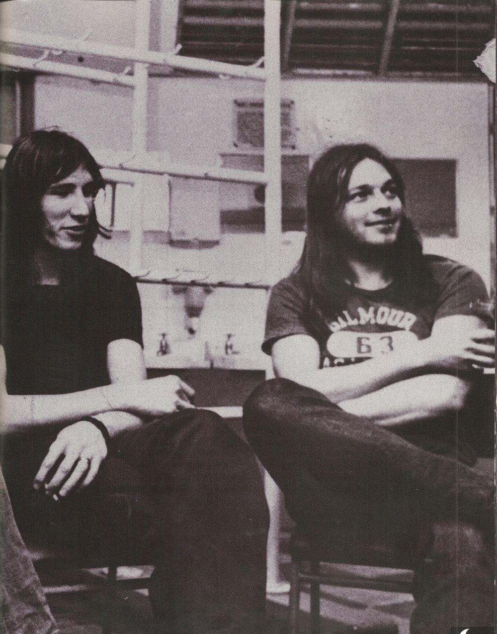 Roger Waters and David Gilmour. Once upon a time…