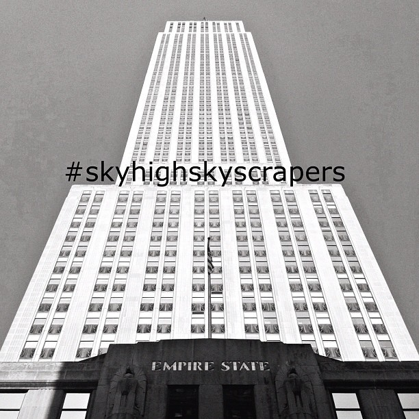 This week's InstaGame tag is #skyhighskyscrapers. Snap a photo of your favorite skyscraper and tag it (please don't tag old photos). The game runs until Thursday night and on Friday @newyorkcity will post her favorites. Happy snapping! (Taken with instagram)