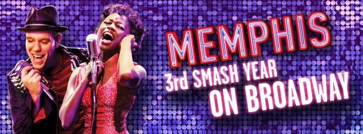 MEMPHIS to Celebrate 1000th Performance 3/14! Hockadoo to this fantastic show!