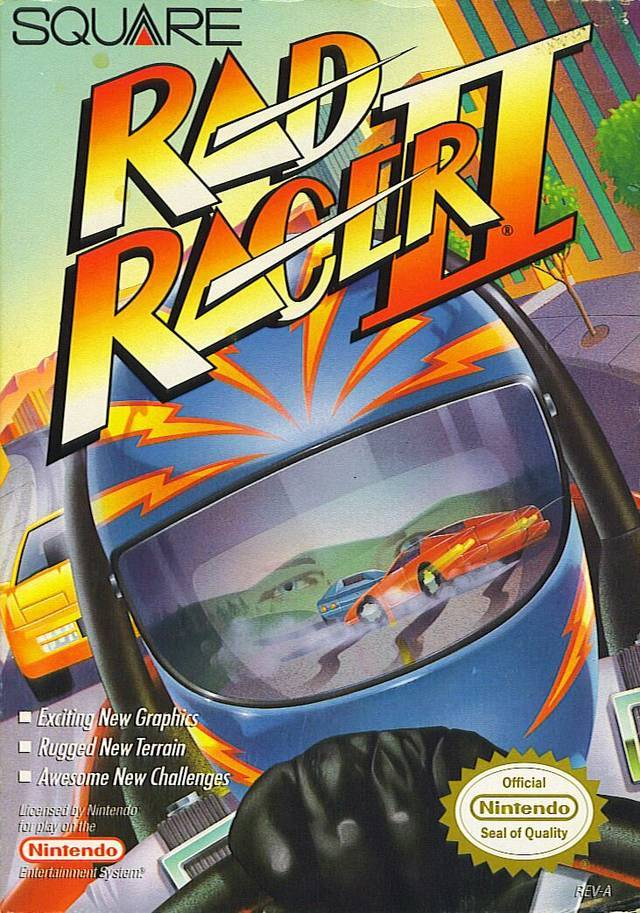 This just in for you young folk. Square used to make Racing games. Rad Racer and Rad Racer II. NES. Got the cartridges? I do.