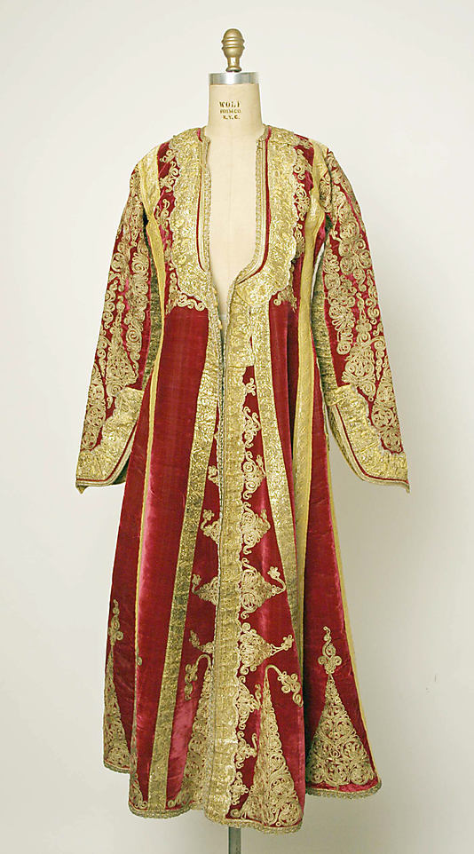 Ensemble Date: 19th century Culture: European, Eastern Medium: (b, e–g) silk; (c, d) cotton