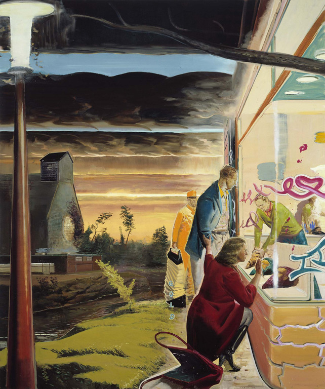 Neo Rauch was one of my favourite artists in college