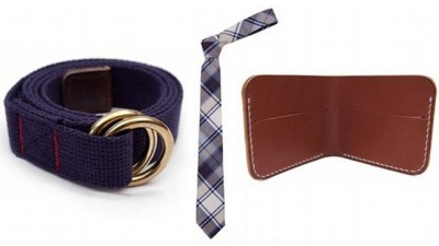 "Plaid neckties, webbing belts come from Archival Clothing, and leather wallets/card cases that are ""produced faithfully and meticulously."""
