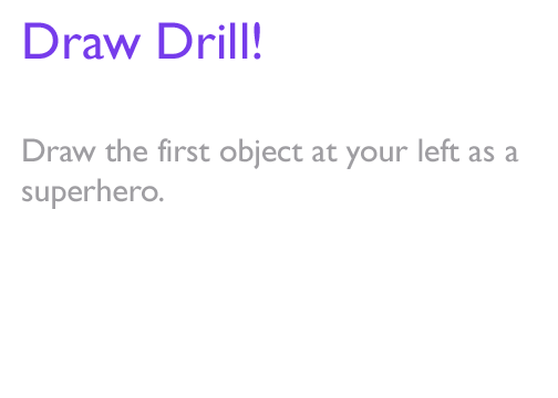 artist-problems:  Draw Drill winner #2, winning with 18 votes, is epic-freefall! Draw Drill: Draw the first object at your left as a superhero.    The item I saw was… a bottle of Smart Water.