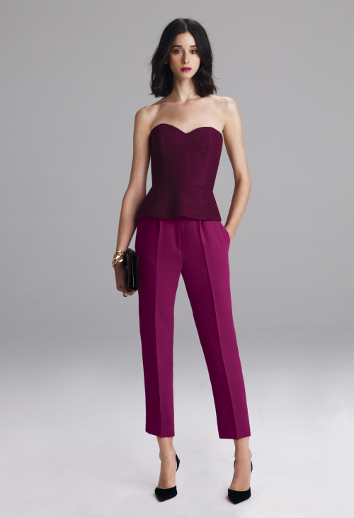 This wine-colored corset from New York designer Lyn Devon provides a rich twist of color for the modern girl. View the entire collection by clicking the photo bella. CottonCandyMag.com