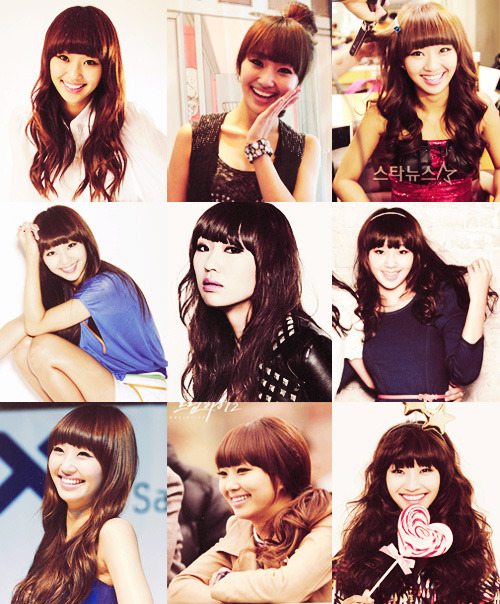 March break request challenge: 9 Favourite pictures of Hyorin from SISTAR (requested by ecstatic-sorrow)